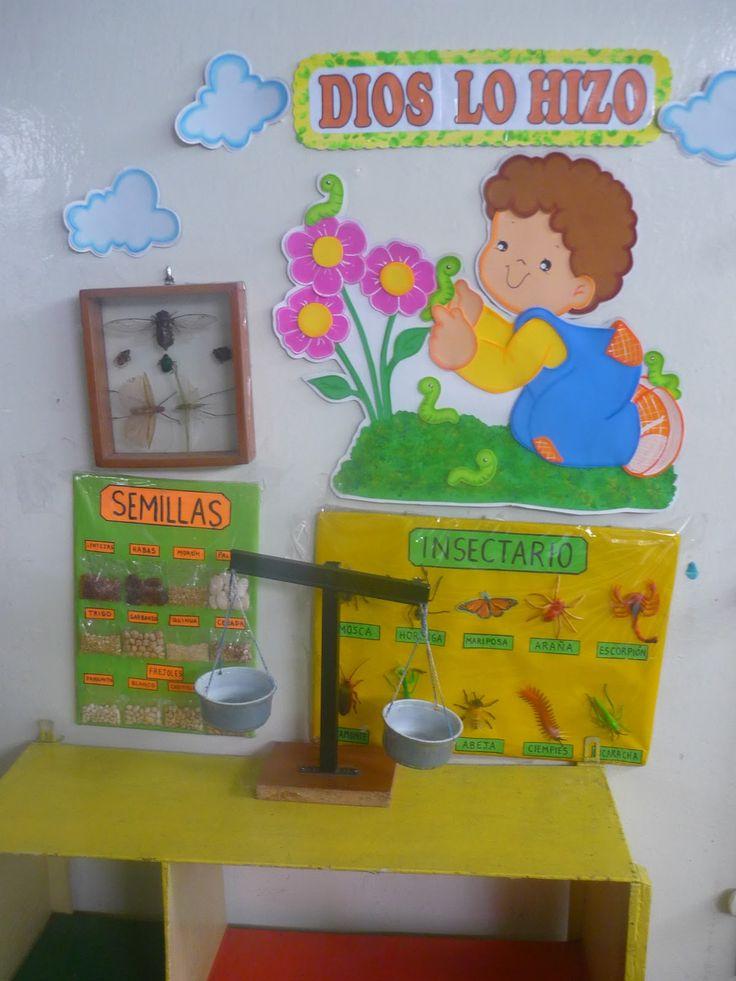 Ambientacion de aula de preescolar imagui preescolar for Decoracion de espacios de preescolar