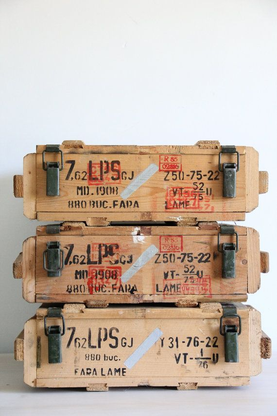 25 Best Ideas About Ammo Boxes On Pinterest Wine Case