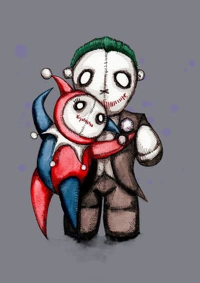 Harley Quinn & The Joker