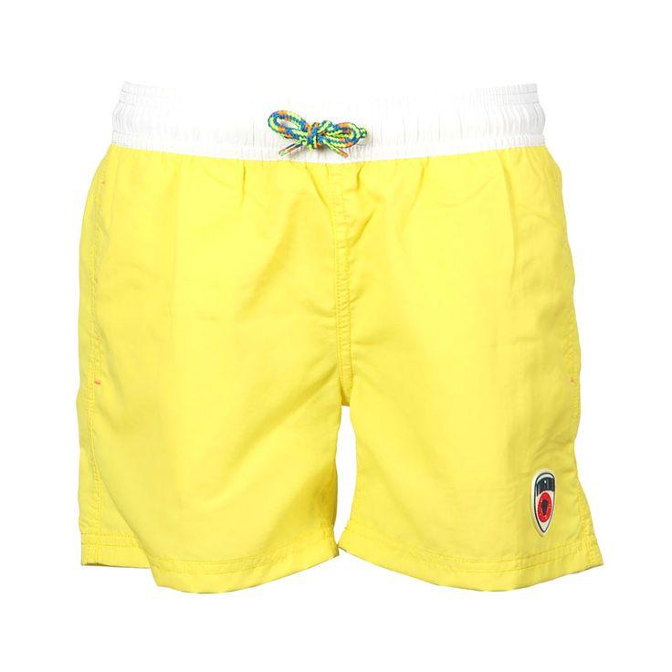 Kinderkleding gele zwembroek | Vingino collectie zomer 2014 | opvallend en trendy | www.kienk.nl