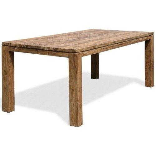 Loft Teak Eetkamertafel - Eetkamertafels - Eetkamer meubelen   Zen Lifestyle