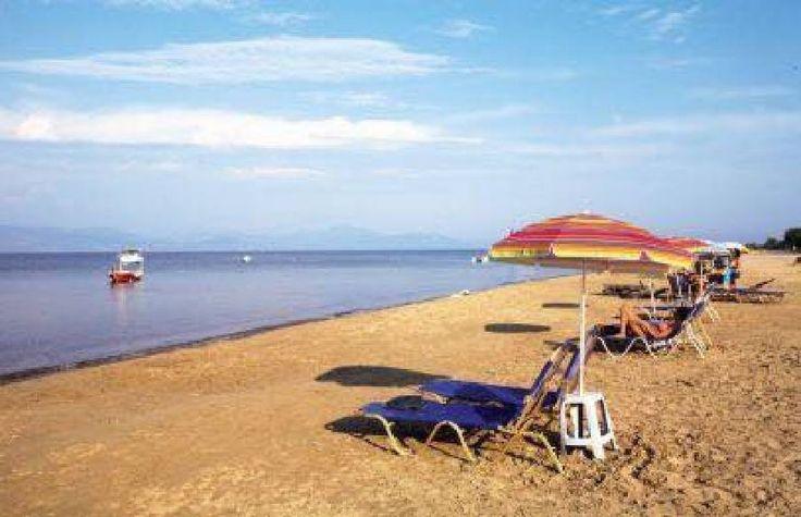 The Beach in Kavos Corfu Greece in 1982