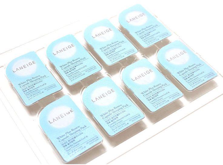 Amore Pacific LANEIGE White Plus Renew Capsule Sleeping Pack, Sleep-in Mask Pack #LANEIGE
