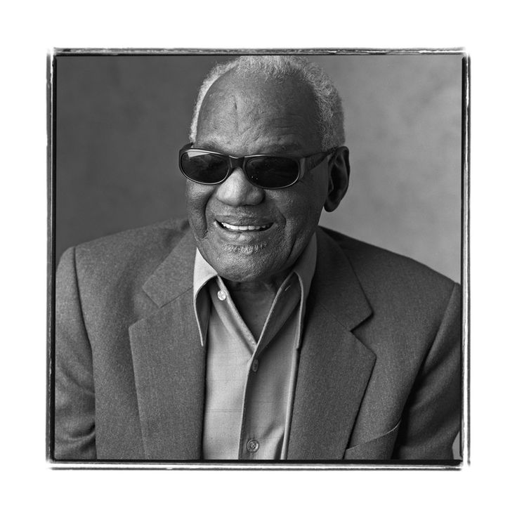 best ray charles singer piano images ray  hcu portrait of ray charles photo by david racugglia c 2002