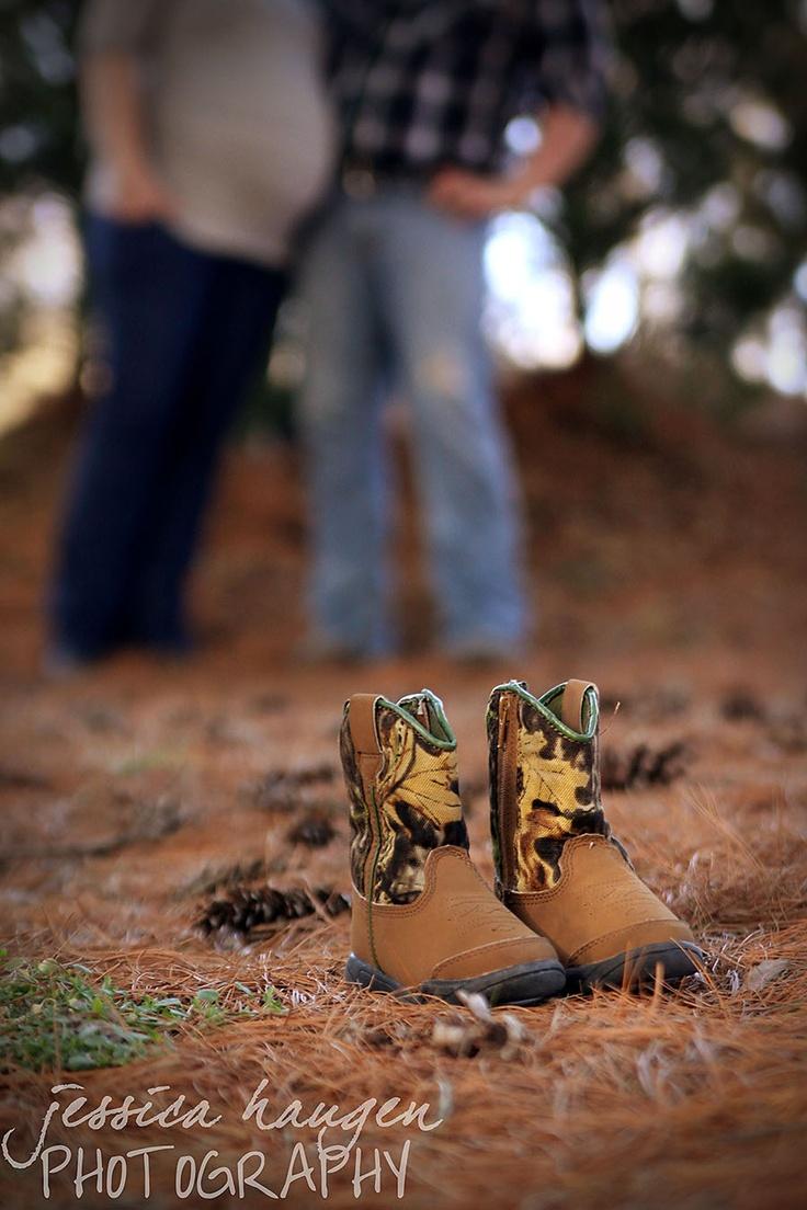 Maternity ~ Cowboy boots  © Jessica Haugen Photography  {facebook.com/jessicahaugenphotography} but little pink boots
