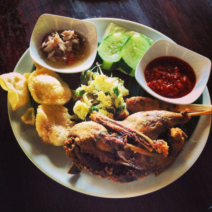 Yummy Crispy Duck. :) Bebek tepi sawah Ubud - Bali