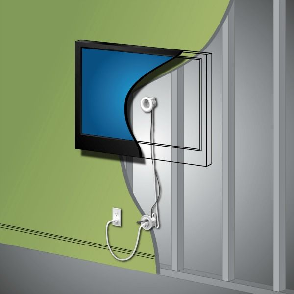 Tv Wire Hider Cord Cable Managment Tv Cords Hiding Tv Cords On Wall Tv Wall