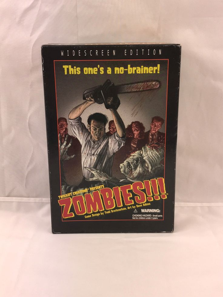 Zombies!!! Board Game Widescreen First Edition Twilight Creations 2002 Rare in Toys & Games, Games, Board & Traditional Games | eBay