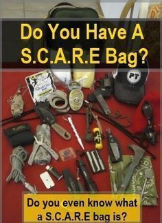 SCARE Bag - Social Chaos And Response Emergency Bag. What everyone needs one with them every day in today's uneasy environment. Pick & choose but put one together today to supplement your EDC...