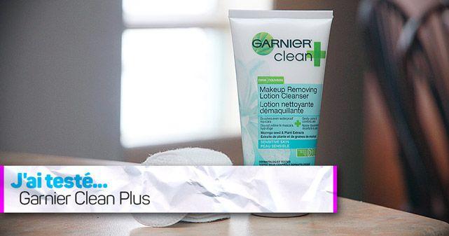 """MARIE NOELLE MARINEAU """"J'ai bien aimé le feeling de ma peau après l'utilisation de Garnier Clean Plus. Elle était propre, très douce et n'était pas grasse."""""""