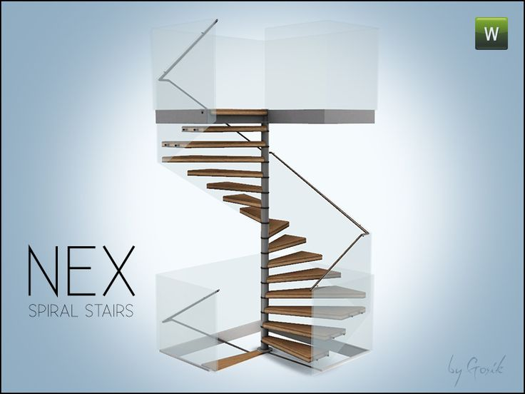 Gosik 39 s nex square spiral stairs on pinterest discover for Square spiral staircase plans