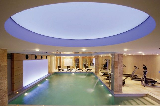 Luxury indoor Pool : Divani Palace Larissa