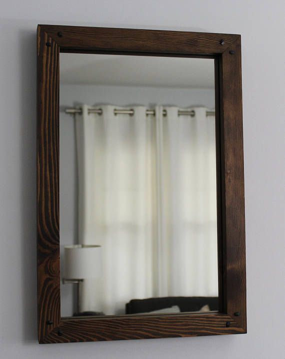 Rustic Reclaimed Wood Mirror 24x16 Distressed Wood Frame Mirror Rectangular  Rustic Mirror Salvaged Wood Bathroom Mirror Hallway Mirror - Best 25+ Reclaimed Wood Mirror Ideas Only On Pinterest Pallet