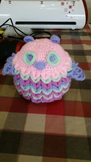 Crochet owl for lily