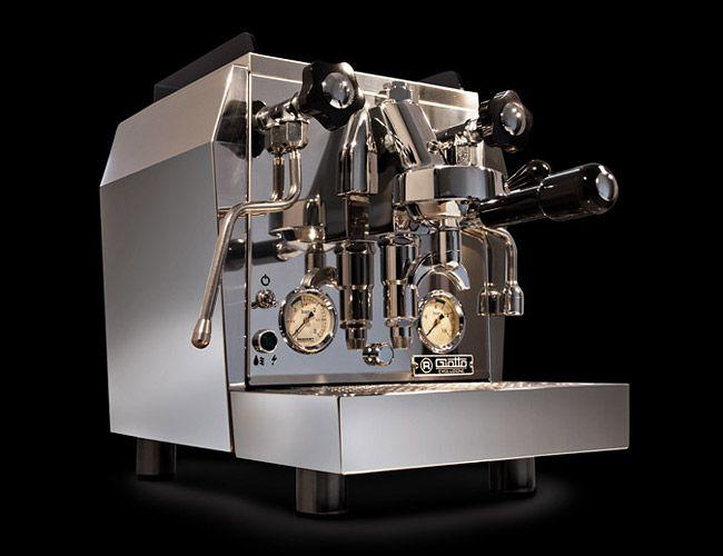 Een espresso-apparaat gemaakt voor Rockstars