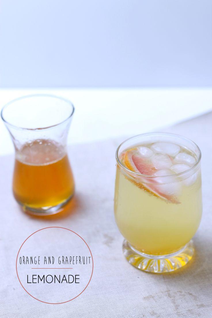 orange and grapefuit lemonade recipe