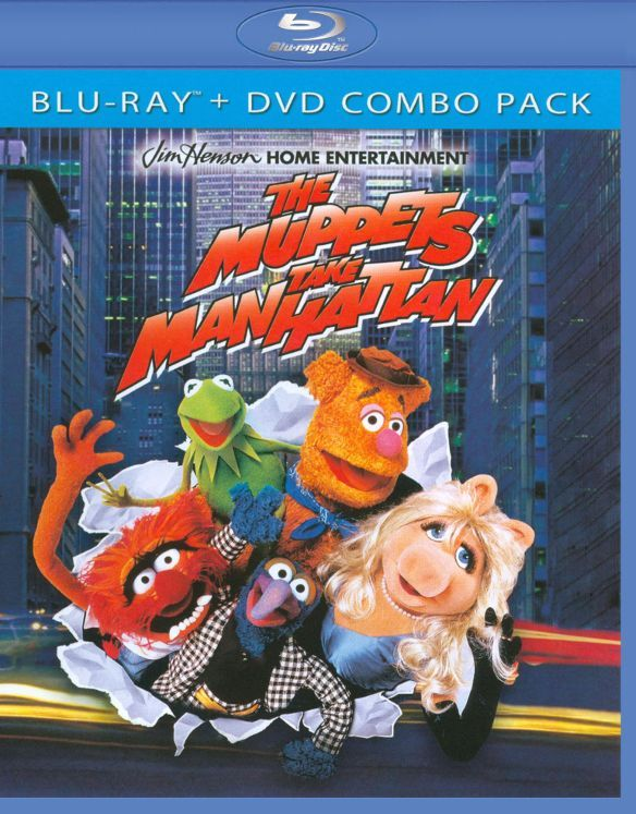 The Muppets Take Manhattan [Blu-ray/DVD] (Enhanced Widescreen for 16x9 TV) (English/French/German/Russian/Spanish) 1984 - Larger Front
