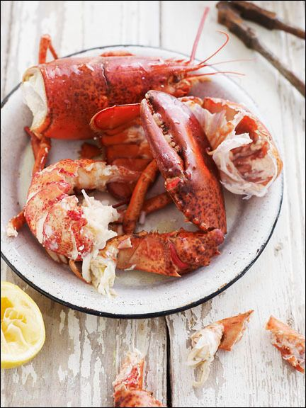 well not exactly heaven for the lobster but most def. for my belly