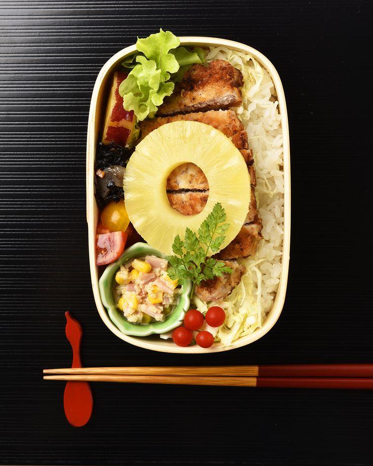 豚肉わさび焼き弁当 / Pan-Fried Wasabi Pork Bento お弁当を作ったら #edit_jp で投稿してね!