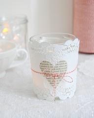 Valentine Votive Candle