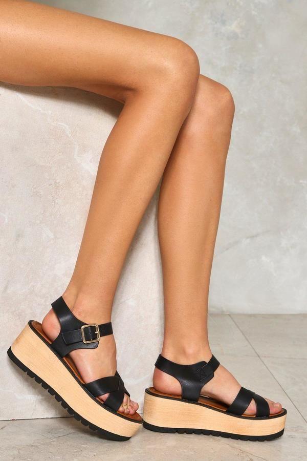 nastygal Love On Top Platform Sandal