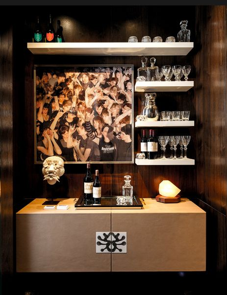 Nice Way To Make The Bar Area Feel More Contemporary Kips Bay Showhouse  2013 Https:
