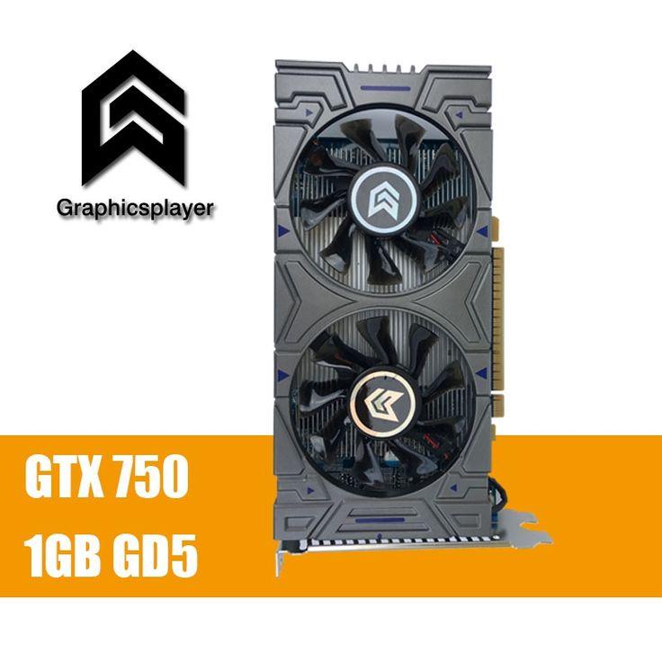 100%Original Graphics Card GTX 750 1024MB/1GB 128bit GDDR5 Placa de Video carte graphique Video Card for NVIDIA Geforce PC VGA