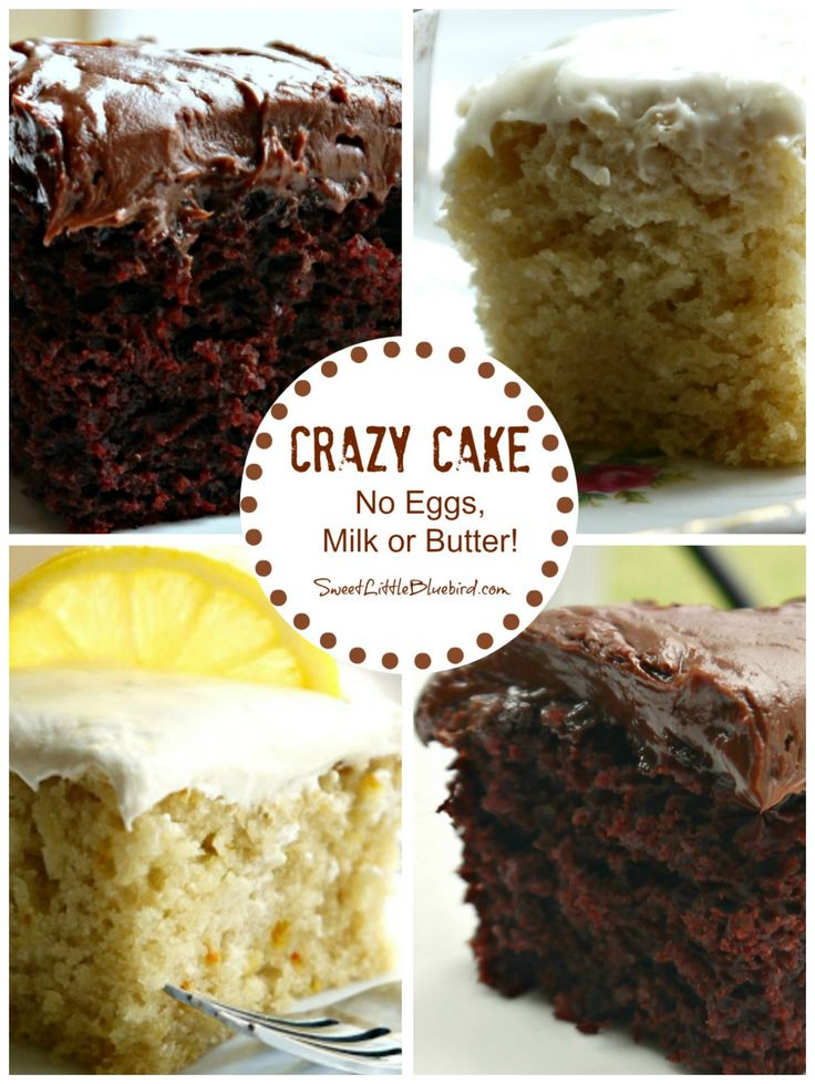 CRAZY CAKE, also known as Wacky Cake & Depression Cake- No Eggs, Milk, Butter,Bowls or Mixers!!! Super moist & delicious! Great activity to do with kids! Go to recipe for egg/dairy allergies. Recipe dates back to the Great Depression. It's darn good cake! | SweetLittleBluebird.com