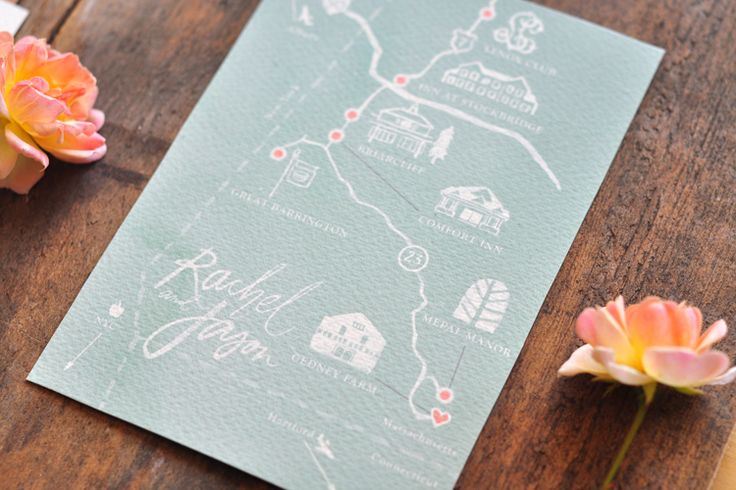 Btown map in invites  www.juliesongink.com