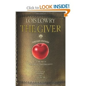"The Giver (illustrated; gift edition) - one of my favorite books. ""Sameness"" may sound fair -- but it does have a cost."