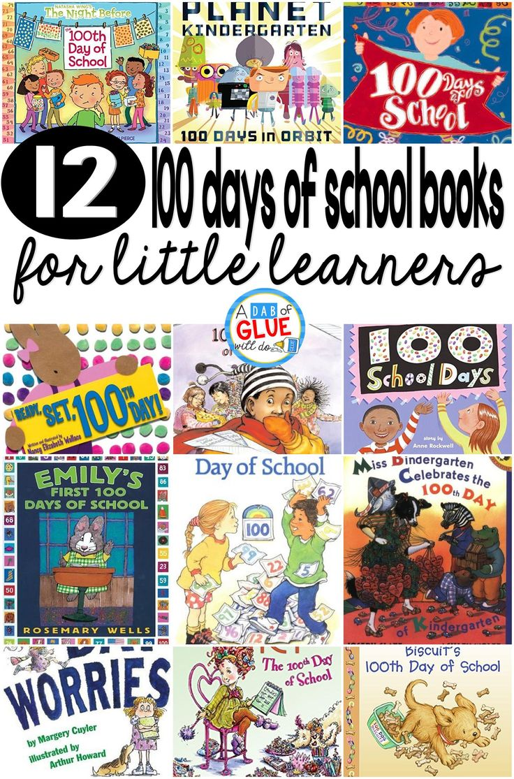 100 Days of School Books by Jennifer...Our 12 favorite 100 Days of School books are perfect for your 100th Day of School lesson plans. These are great for preschool, kindergarten, or first grade students.