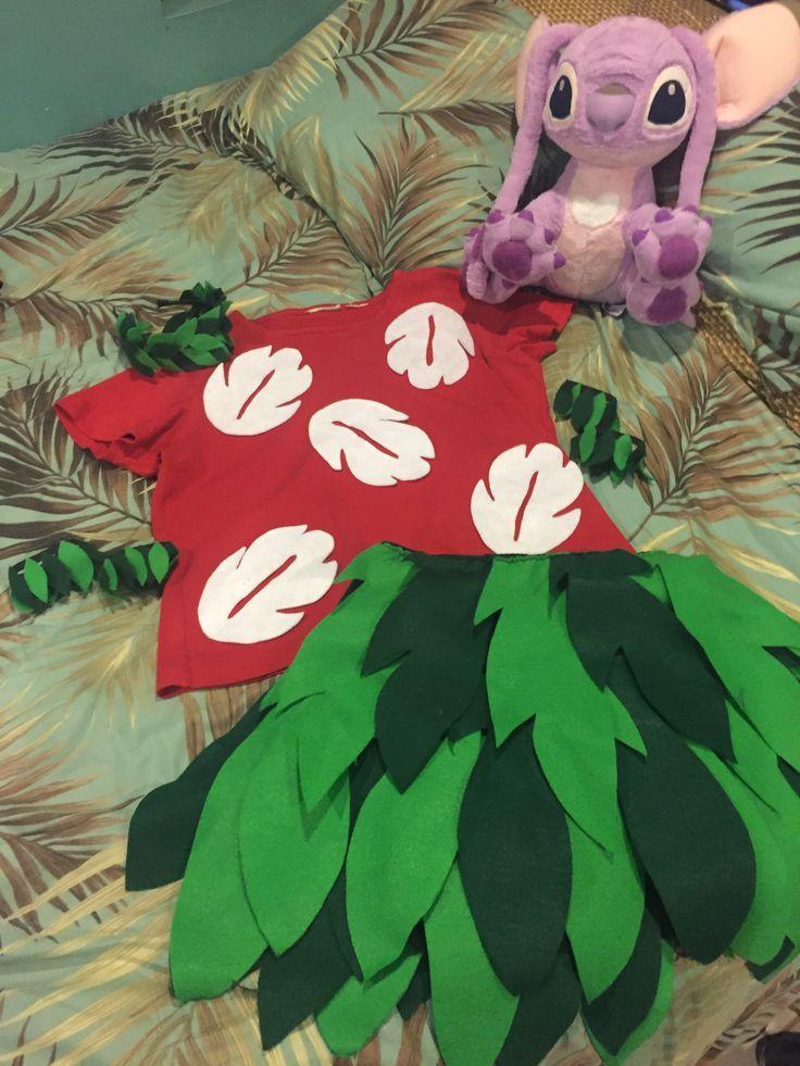 Resultado de imagen de disfraz de hawaianas de lilo y stitch