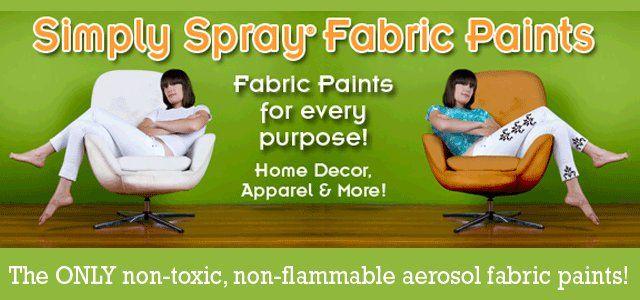 Pintura para tela de tapicería en spray