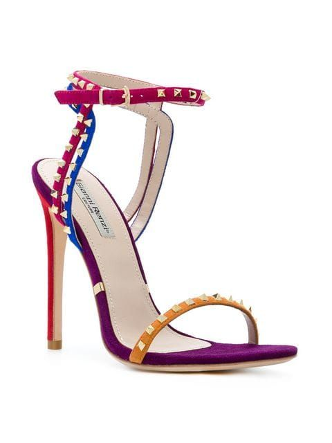 6ddc6b2e41d Gianni Renzi Studded Sandals - Farfetch | Fashion in 2019 | Studded ...