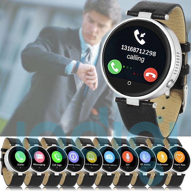Bluetooth Smart Watch Phone for All iOS iPhone Android Smartphone (US Seller) #indigi #BluetoothSmartWatch