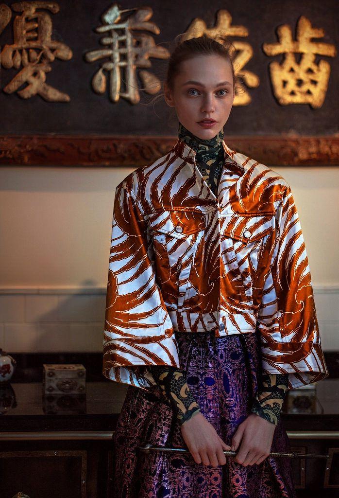 Саша Пивоварова — Фотосессия для «Vogue» CH 2016 – 2