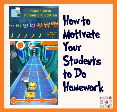 """Free to Download """"Minion Rush Homework Edition"""" Kids love Minions! Not just kids actually, as an adult I also love Minions :) So, why don't we use this as a motivational tool to make kids follow their homework more willingly?  That's why I created a Minion Rush Homework Edition pack :) And I'm sharing it with you as I know you will love it too! Give it a try :)"""