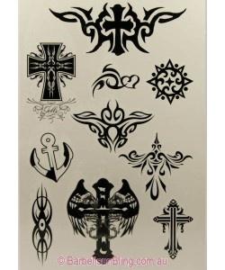 Temporary Tattoos 8 x 12 - T048