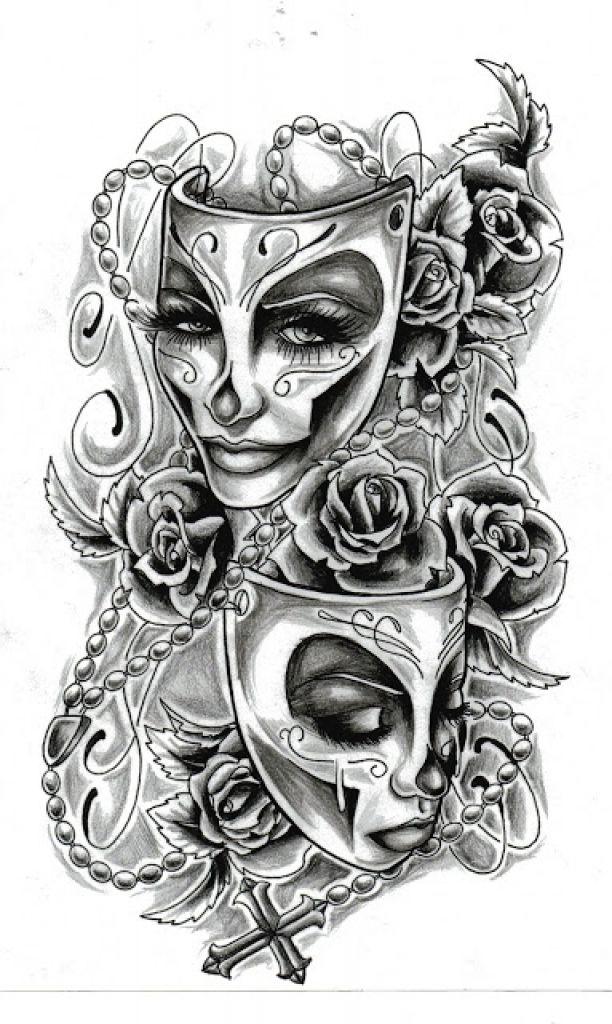 Die brillante Ergänzung zum schönen Tattoo-Muster für die Tattoo-Kunst   – Tätowierung