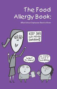 Alergias a los alimentos:  lo que el personal de la escuela debe saber.  Guía para descargar en español de la National Education Association Health Information Network.