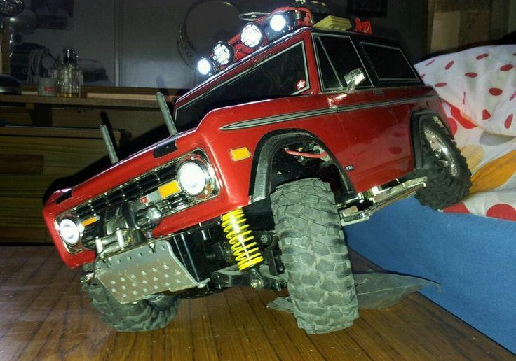 Tamiya cc01 ford bronco RTR hop ups rc 1/10 crawler custom ...
