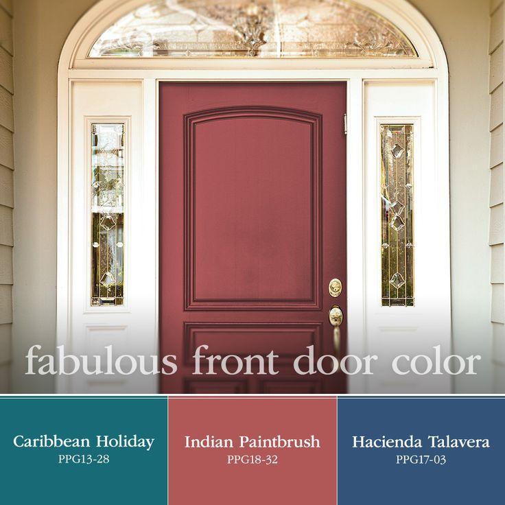 13 best fabulous front door paint colors images on for Fabulous front doors