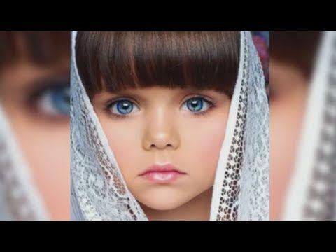 La llaman la niña mas linda del mundo