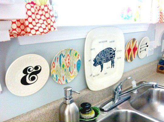 15 Ideas For Removable Diy Kitchen Backsplashes Plastic