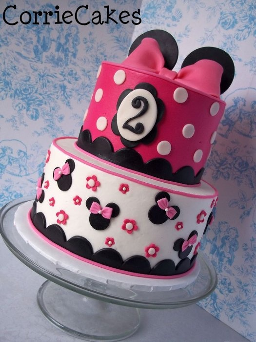 Minnie Mouse version 567 - by Corrie @ CakesDecor.com - cake ...