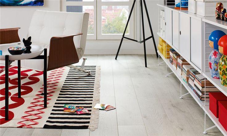 Vintereik, plank, laminat gulv fra Pergo