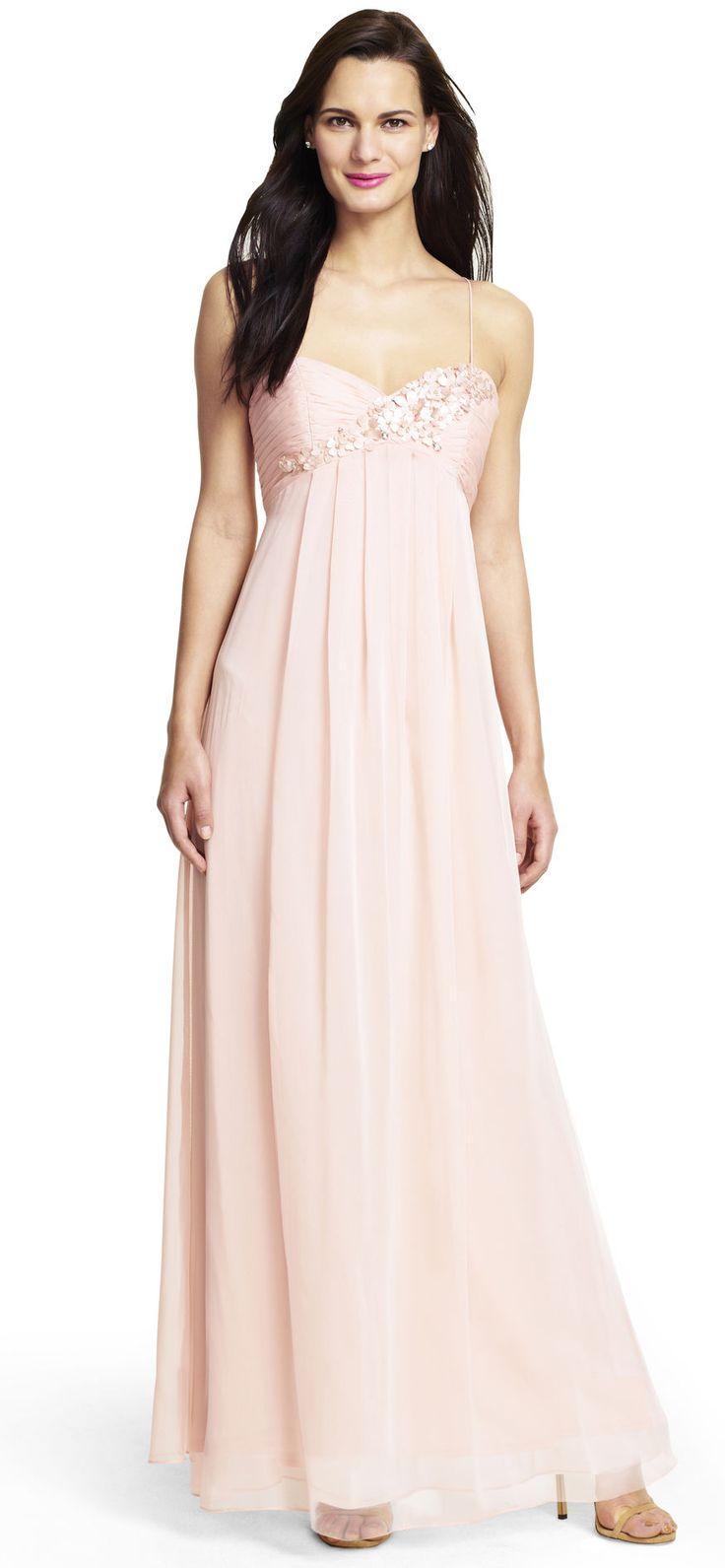119 best bridesmaid dresses images on pinterest bridesmaid ideas flower applique chiffon gown pink bridesmaid dressesblush ombrellifo Images