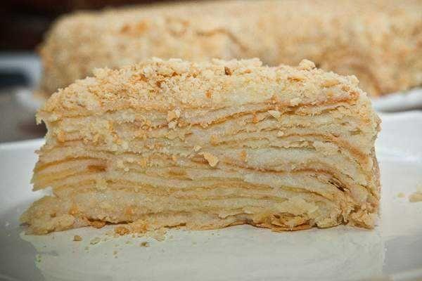 Вкусный торт Наполеон пошаговый рецепт с фото