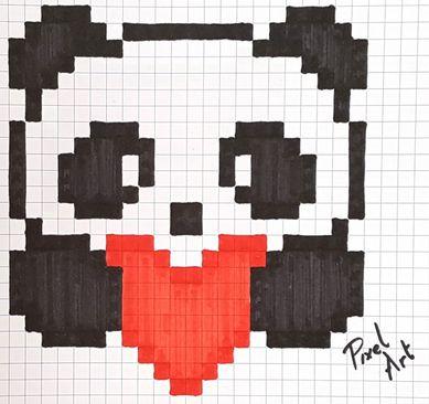 épinglé Par Danielle Ann Sur Perler Beadspanda Pixel Art