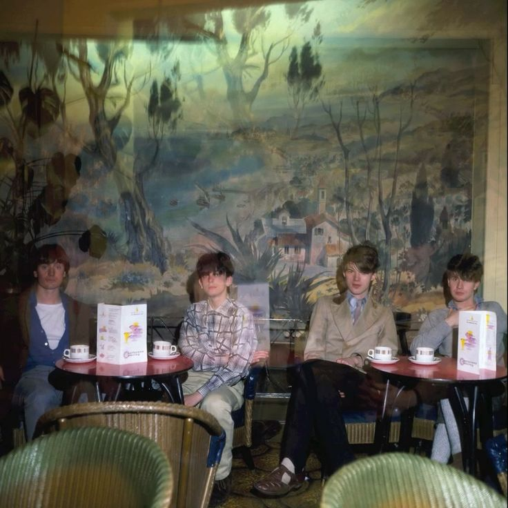 Orange Juice – The Moorings Cafe, Largs, 1981.